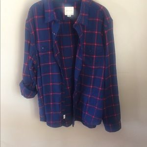 American Eagle young men's flannel